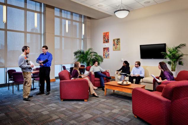 Des Places Hall Duquesne University Wtw Architects