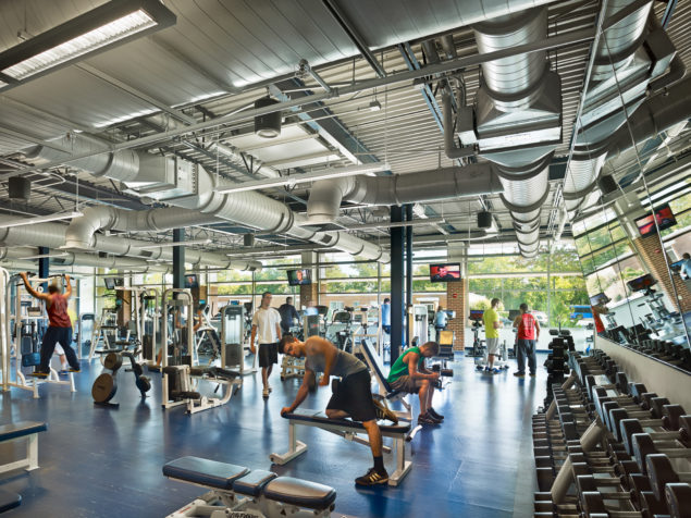 Capital Union Building Fitness Center Addition Penn State