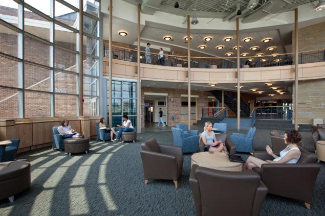 University Of Pittsburgh Bookstore >> University Center, Shawnee State University - WTW Architects