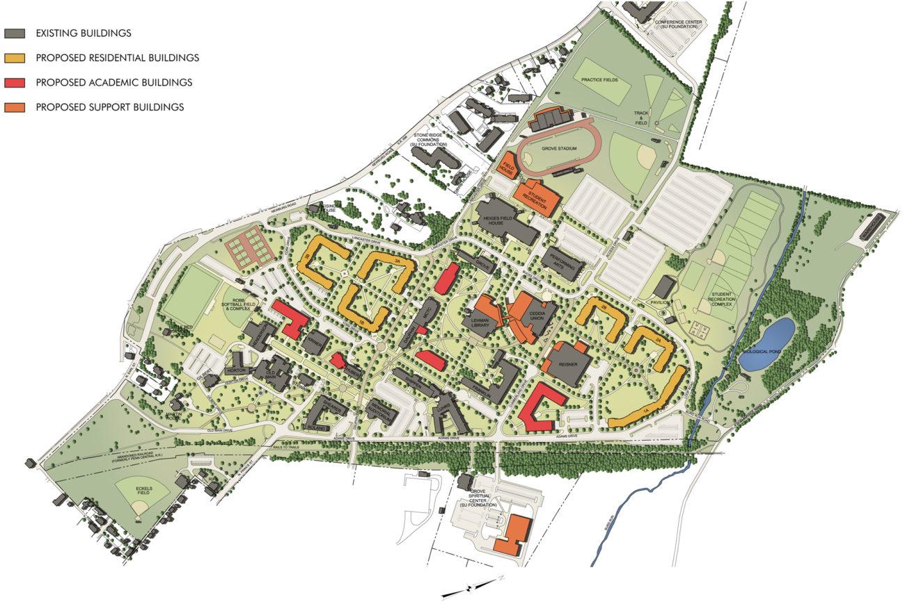Campus Master Plan Shippensburg University Of Pennsylvania Wtw