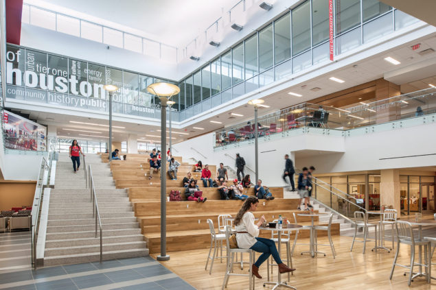 Student Center University Of Houston Wtw Architects