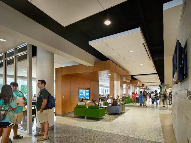 University Of Pittsburgh Bookstore >> Student Union, Southeastern Louisiana University - WTW Architects