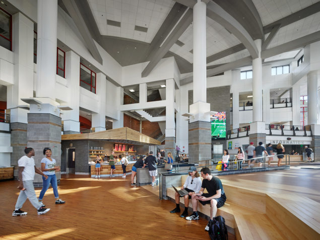 Temple University Student Center Food Court