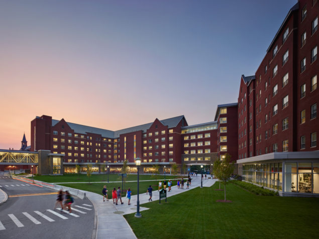 University Of Vermont >> Central Campus Residence Hall/Dining Hall, University of Vermont - WTW Architects